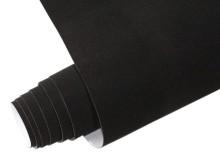 Mykağıtcım Kadife Folyolar - Yapışkanlı Folyo Ucuz Kadife Siyah 45cmx1mt