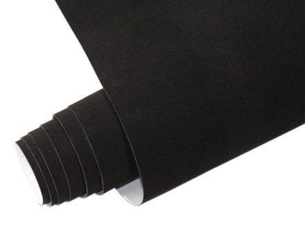 Yapışkanlı Folyo Ucuz Kadife Siyah 45cmx1mt