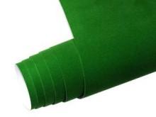 Mykağıtcım Kadife Folyolar - Yapışkanlı Folyo Ucuz Kadife Yeşil 45cmx1mt